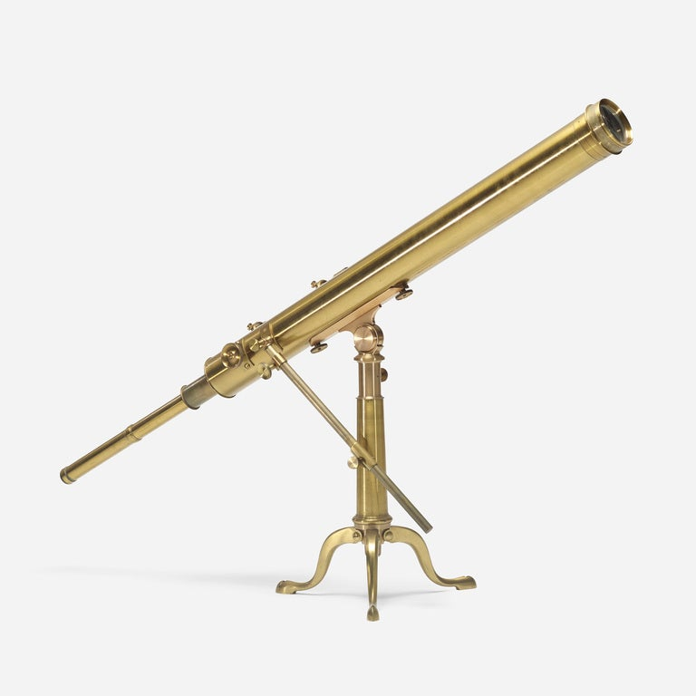 Electrical Measuring Instruments Made By William Gilbert : Tabletop telescope by j lancaster and son at stdibs