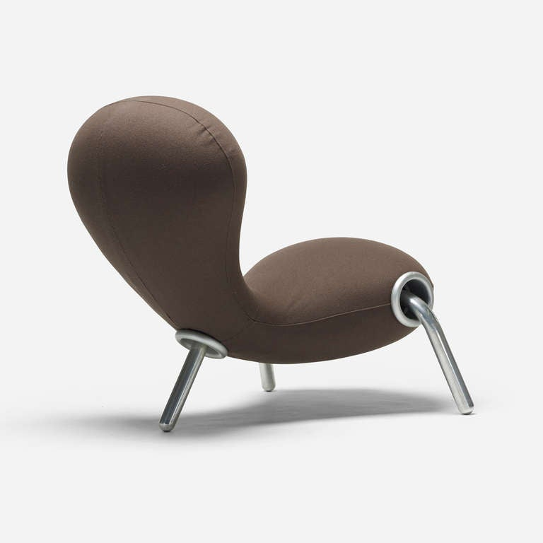 Embryo chair by marc newson for id e at 1stdibs for Embryo chair