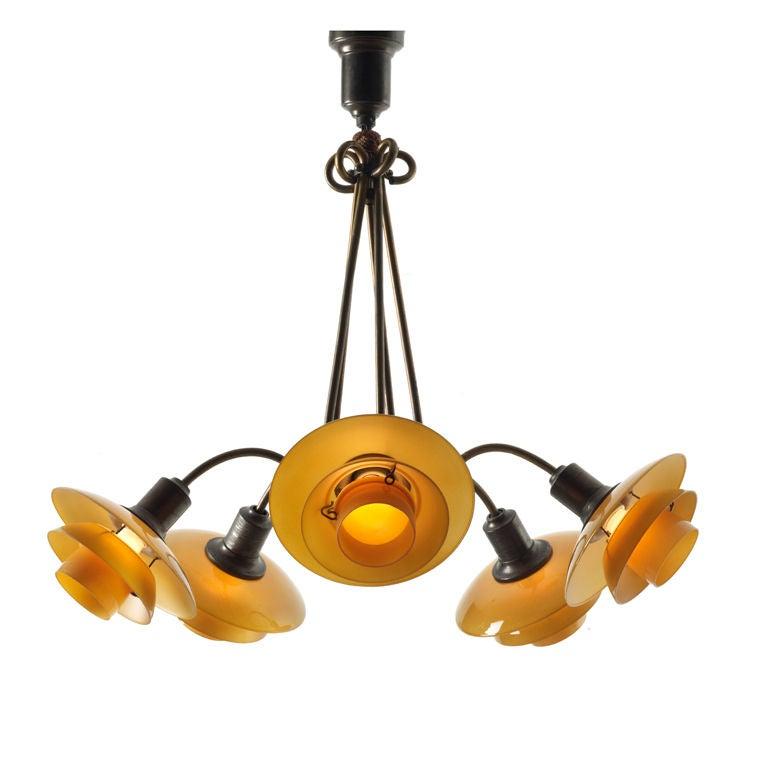 PH Basket Hanging Lamp By Poul Henningsen At 1stdibs
