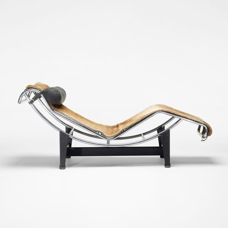 lc 4 chaise by le corbusier at 1stdibs
