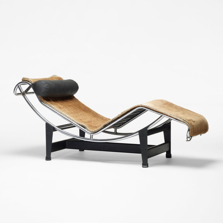 Lc 4 chaise by le corbusier at 1stdibs for Chaise le corbusier