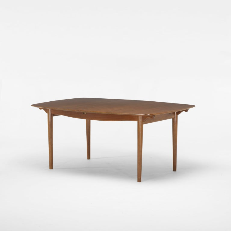 Dining table by finn juhl at 1stdibs for 108 inch dining room table