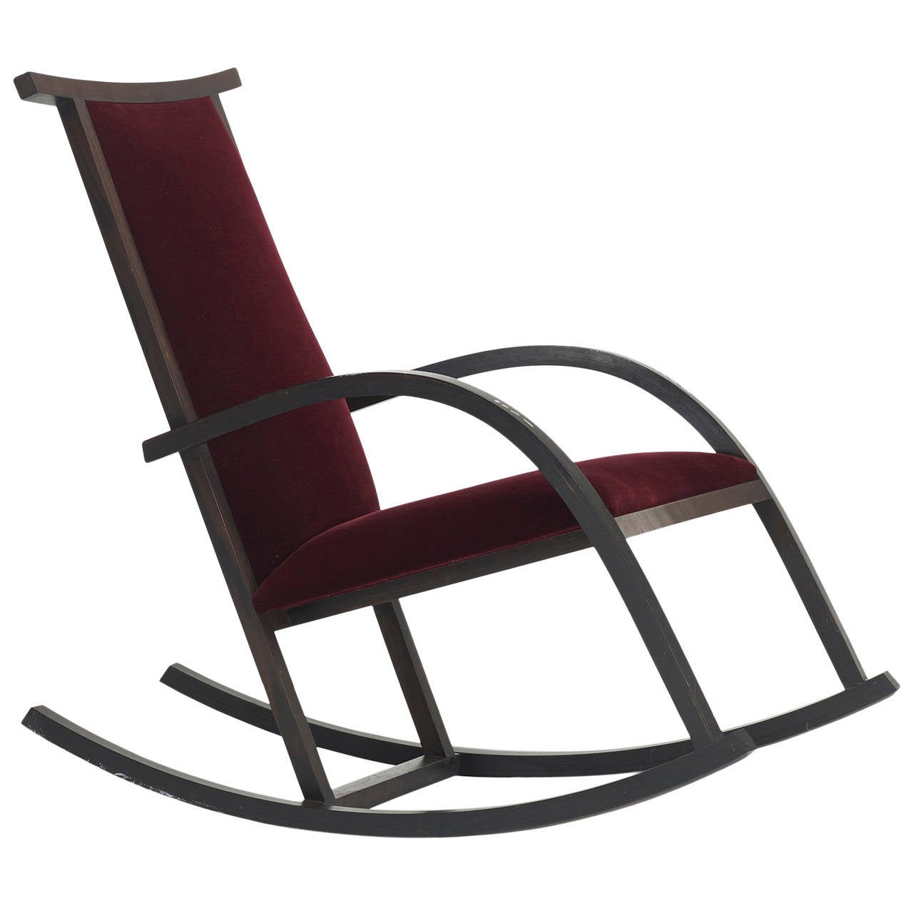 Riart rocker by carlos riart for knoll international for sale at 1stdibs - Knoll rocking chair ...