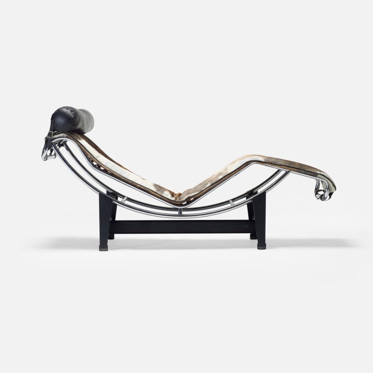 Lc 4 chaise by charlotte perriand pierre jeanneret and le for Chaise le corbusier