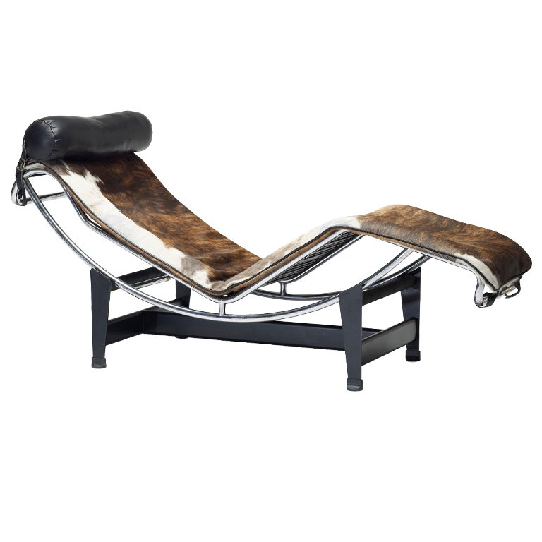 lc 4 chaise by charlotte perriand pierre jeanneret and le corbusier at 1stdibs. Black Bedroom Furniture Sets. Home Design Ideas