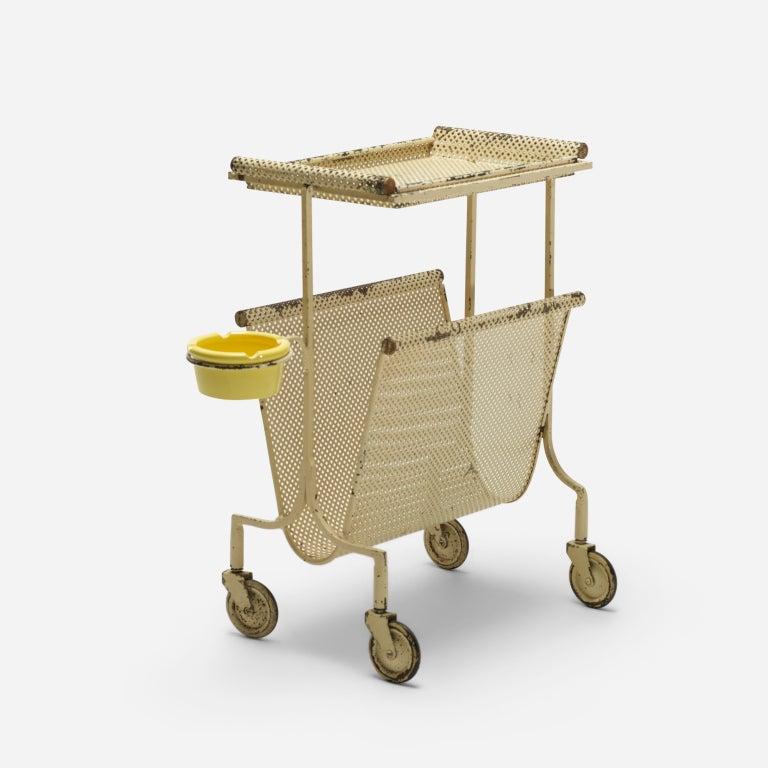20th Century Cart By Mathieu Mategot