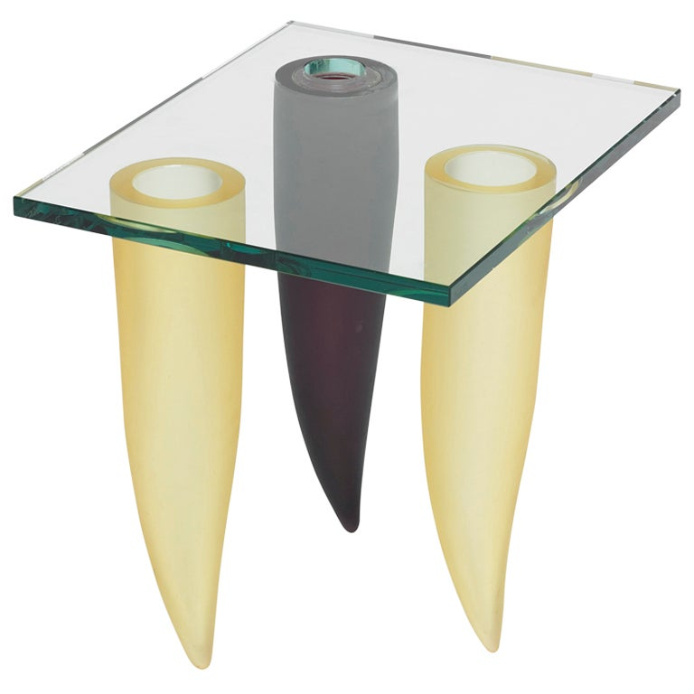 occasional table by philippe starck at 1stdibs On philippe starck glass table
