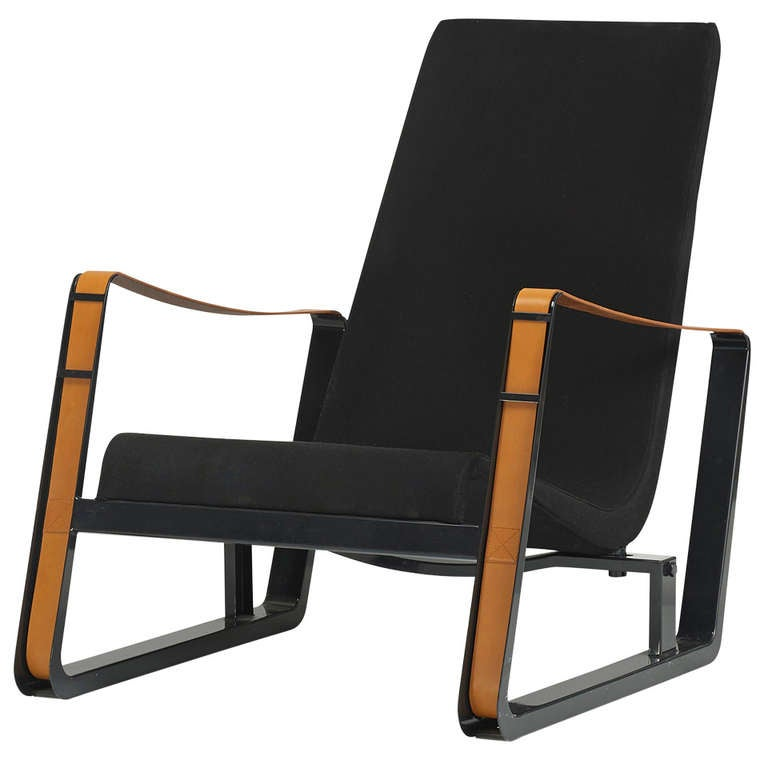 Cite Lounge Chair by Jean Prouvé for Vitra Editions at 1stdibs