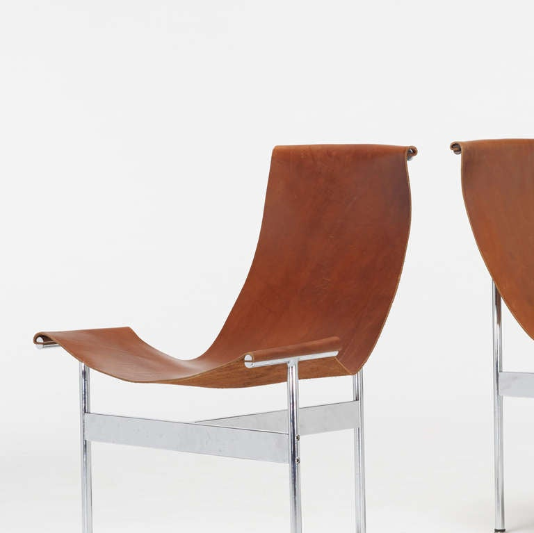 chairs set of eight by katavolos ross littell and douglas kelley