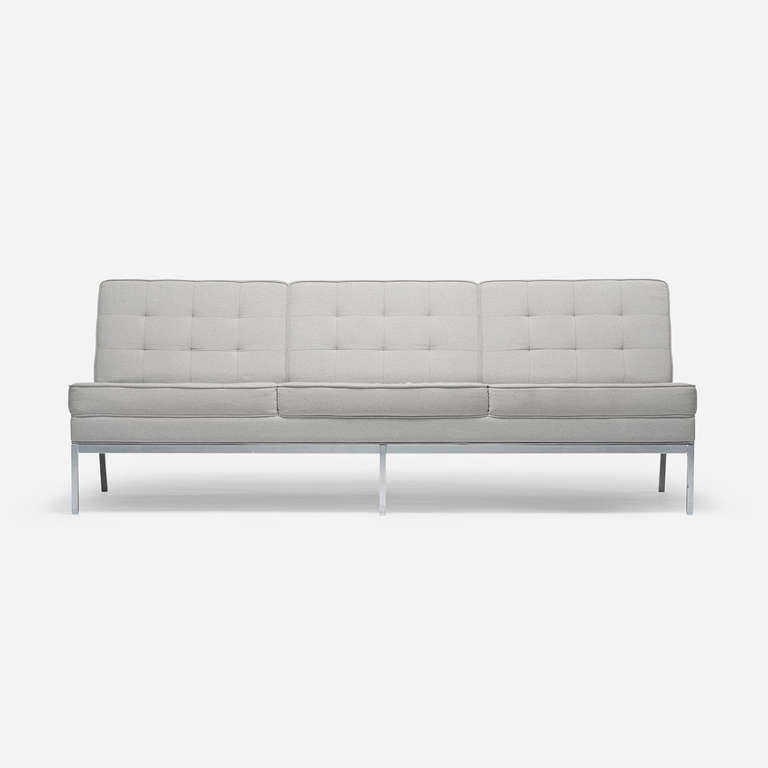 Sofa By Florence Knoll For Knoll Associates At 1stdibs