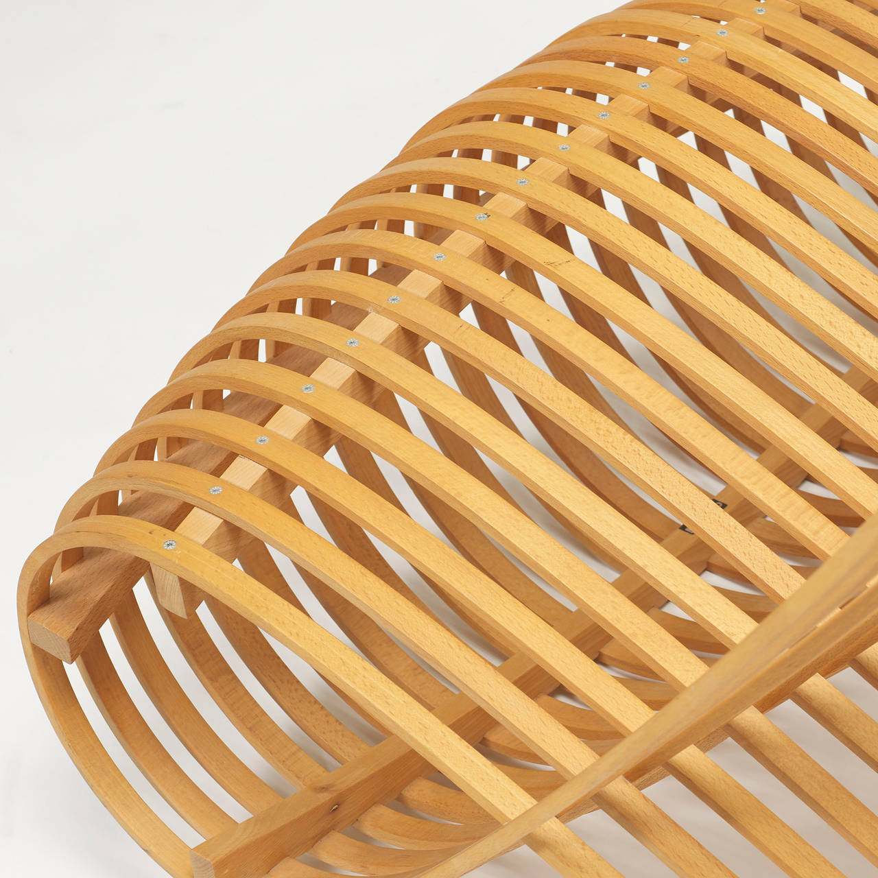 wooden chair by marc newson for cappellini for sale at 1stdibs