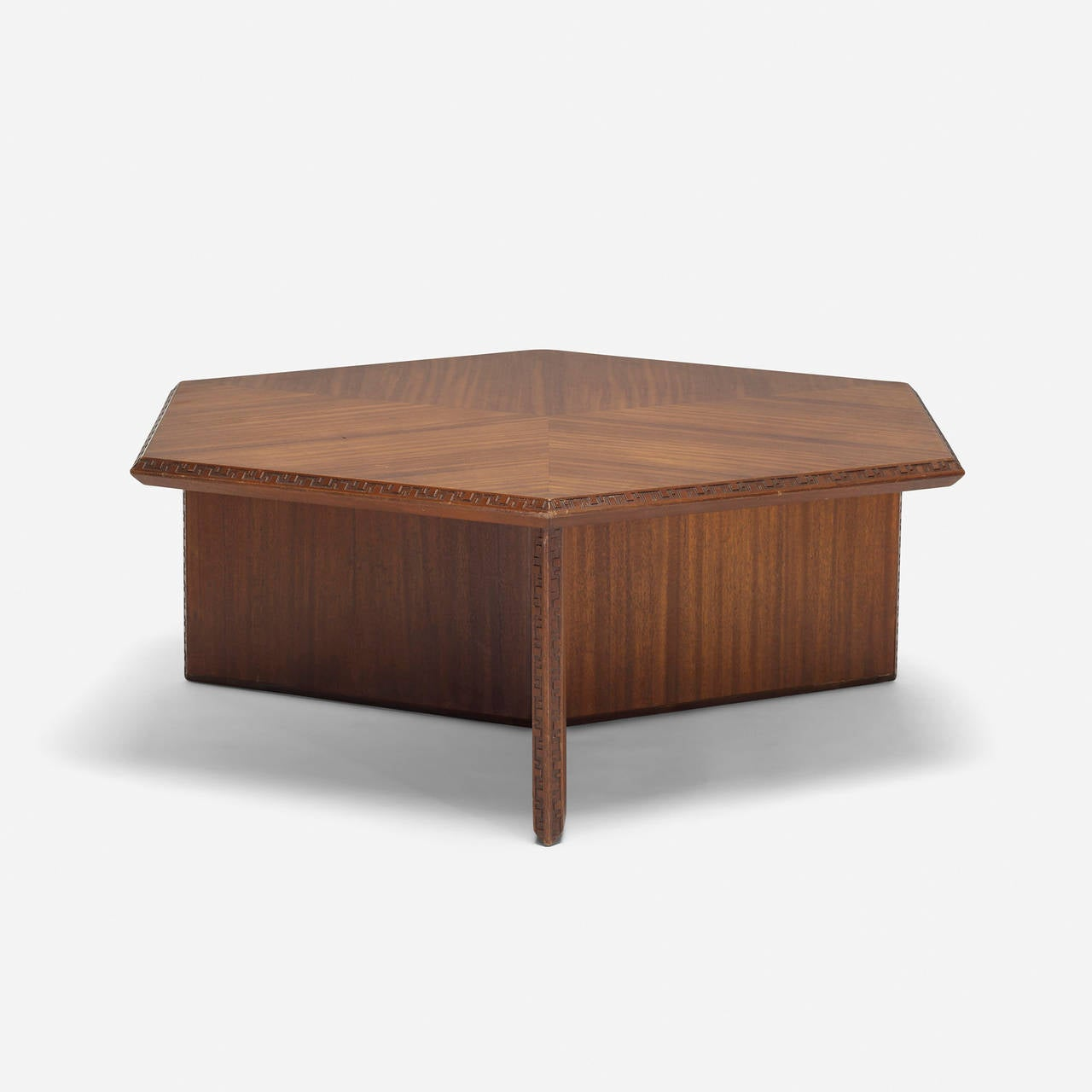 Coffee Table Model 453 C By Frank Lloyd Wright For Heritage Henredon At 1stdibs