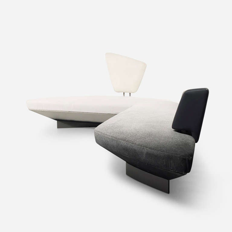 Deconstructivism Furniture Interior Design ~ Woosh sofa by zaha hadid at stdibs