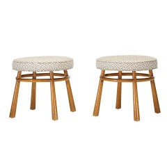 Stools Model 1620, Pair by T.H. Robsjohn-Gibbings