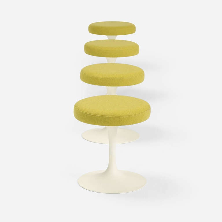 Tulip Stools Set Of Four By Eero Saarinen For Knoll