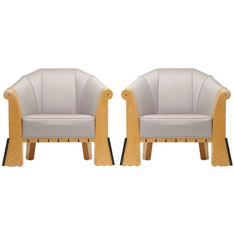 pair of lounge chairs by michael graves at 1stdibs