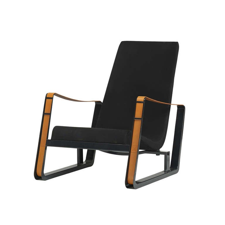 cite lounge chair by jean prouv for vitra editions. Black Bedroom Furniture Sets. Home Design Ideas