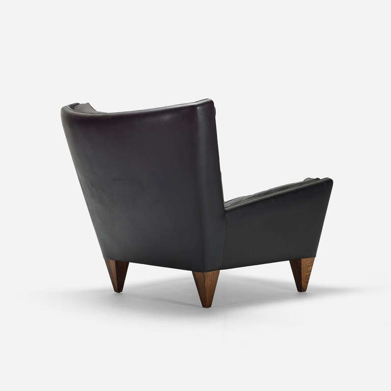 Lounge chair, model V11 by Illum Wikkelso 3