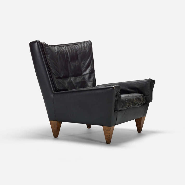 Lounge chair, model V11 by Illum Wikkelso 2