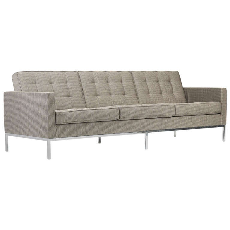 Sofa by florence knoll for knoll associates at 1stdibs for Knoll and associates