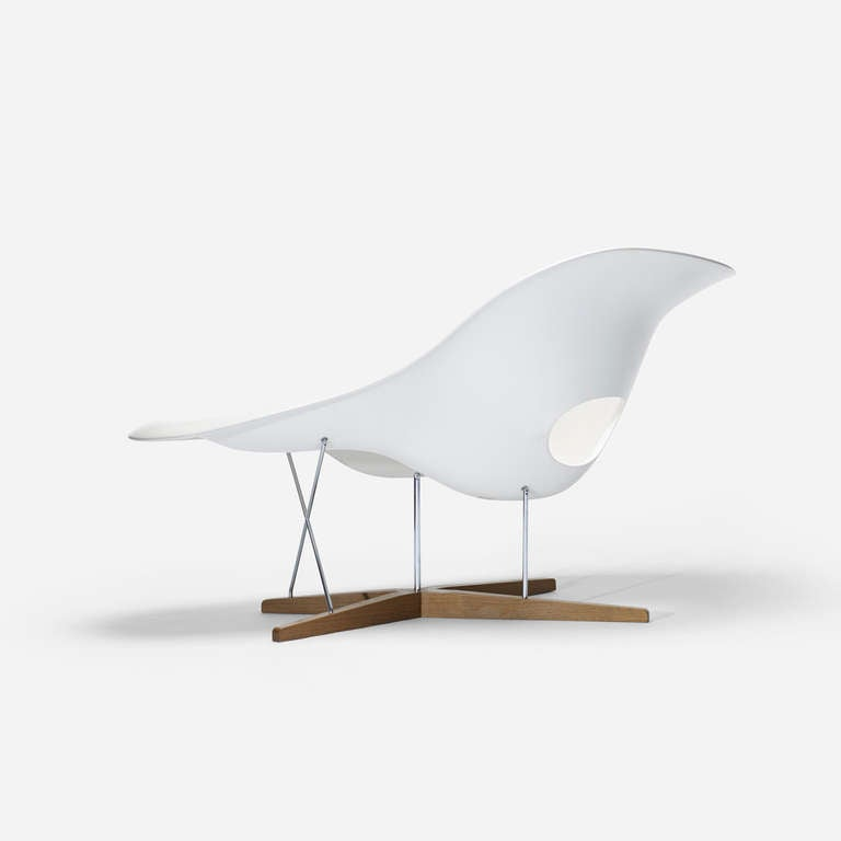 La chaise by charles and ray eames at 1stdibs for Chaise charles eames tissu