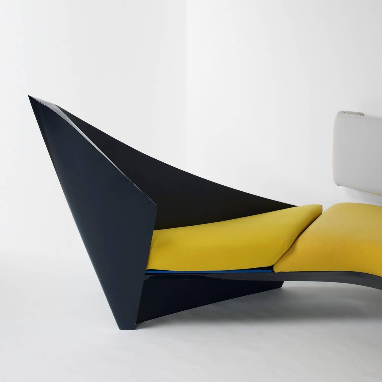Zaha Hadid Furniture Designs: Wave Sofa By Zaha Hadid For Edra For Sale At 1stdibs