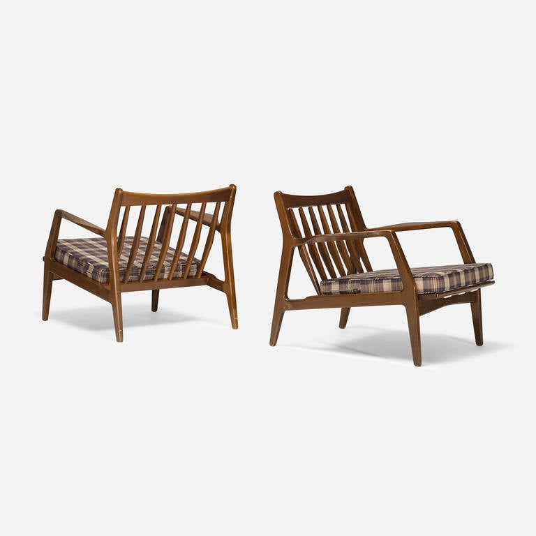 Dux Lounge Chairs Pair At 1stdibs