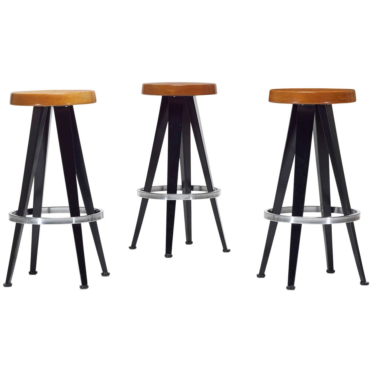 Stools Set Of Three After Jean Prouv 233