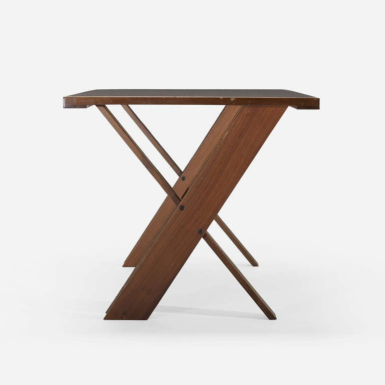 dining table, model TL 58 by Marco Zanuso at 1stdibs -> Model Table Télé