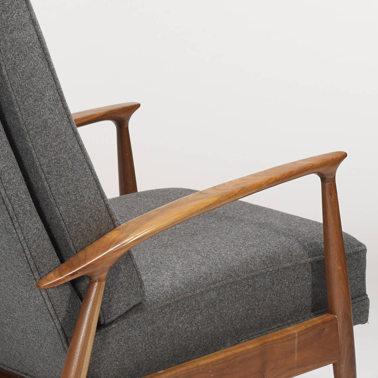 Reclining Lounge Chair By Milo Baughman For Thayer Coggin