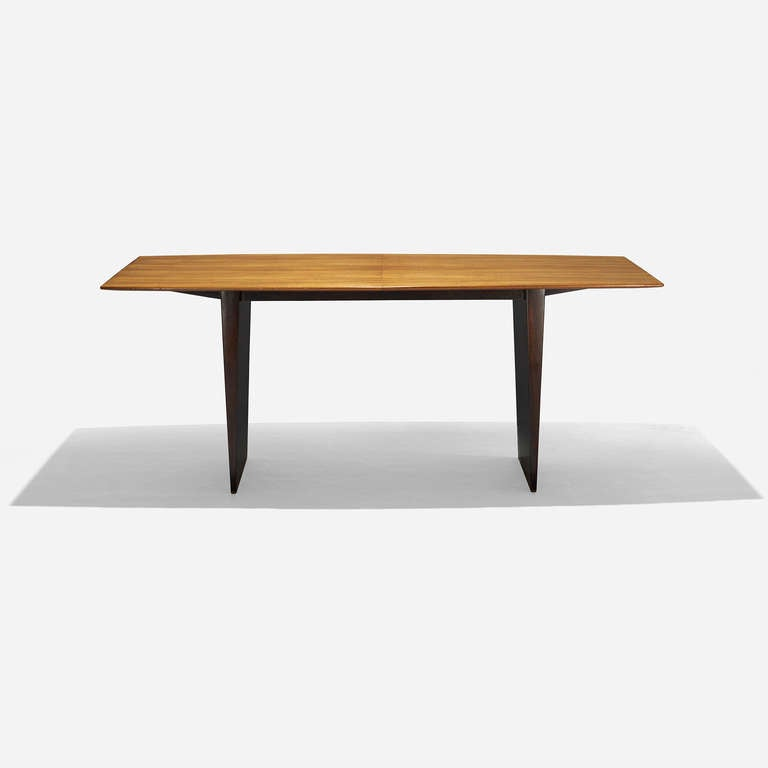 Dining table model 5460 by edward wormley at 1stdibs for 108 inch dining room table