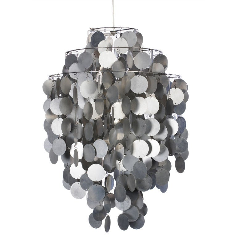 Fun 1 da hanging lamp by verner panton at 1stdibs for Funny lamps for sale