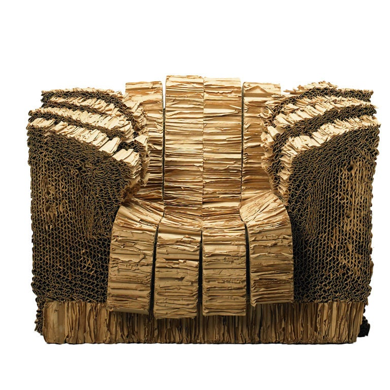 Grandpa Beaver Armchair From The Experimental Edges Series By Frank Gehry At 1stdibs
