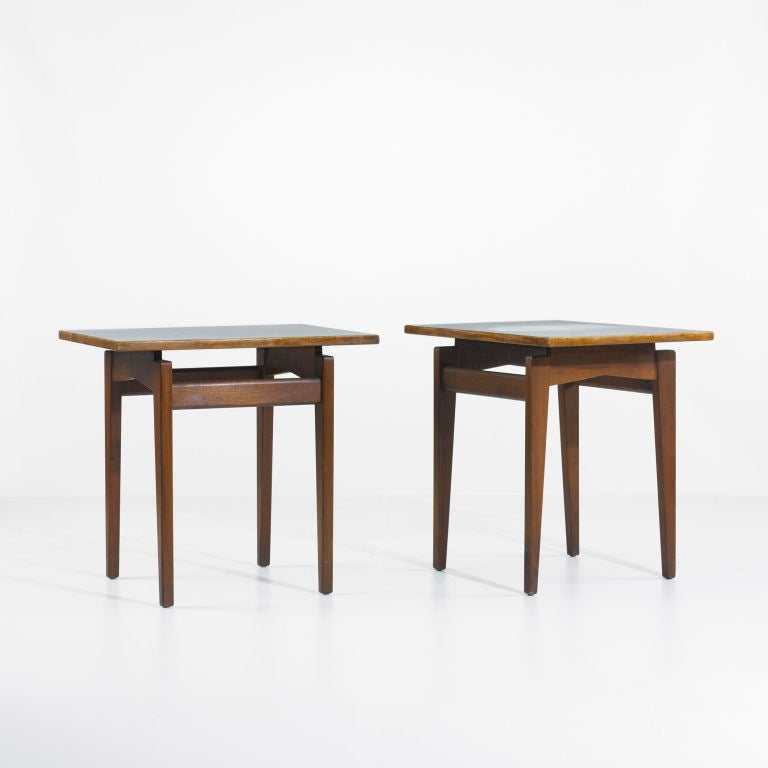 occasional tables, pair by Jens Risom image 2