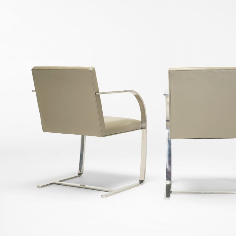 brno chairs set of ten by ludwig mies van der rohe at 1stdibs. Black Bedroom Furniture Sets. Home Design Ideas