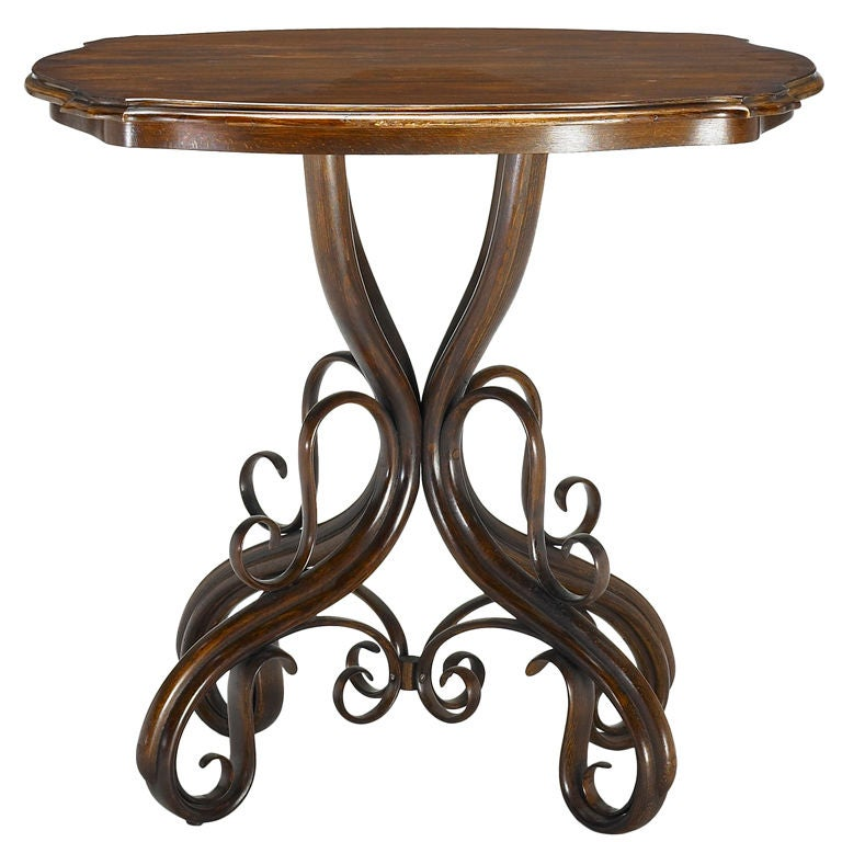 Table by gebruder thonet at 1stdibs for Table thonet