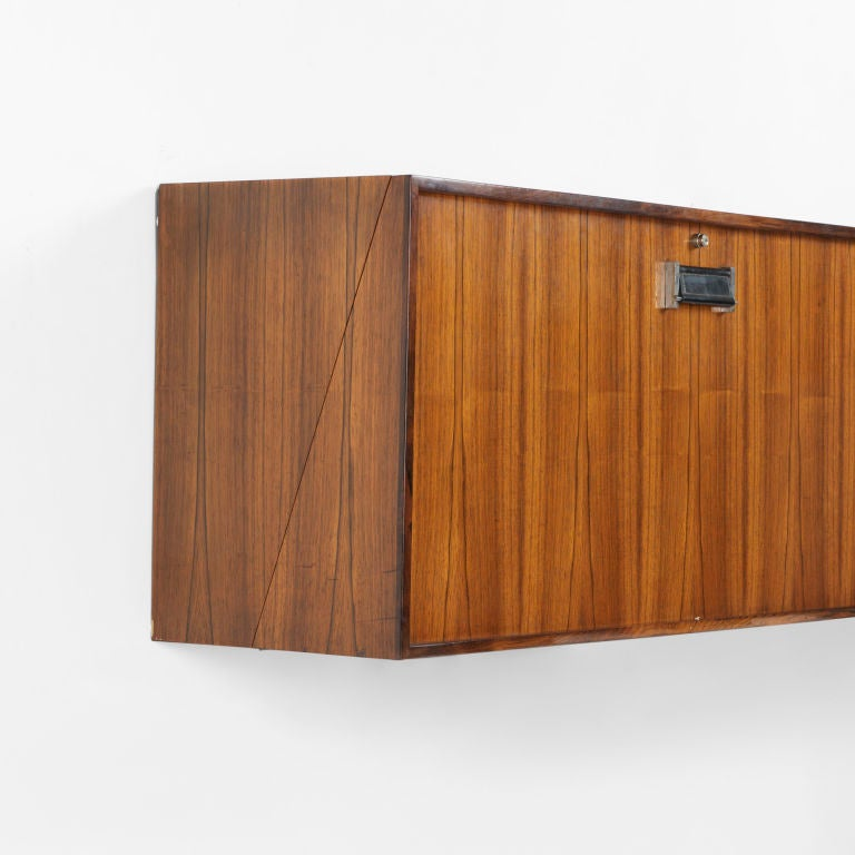 danish wall mounted bar cabinet at 1stdibs