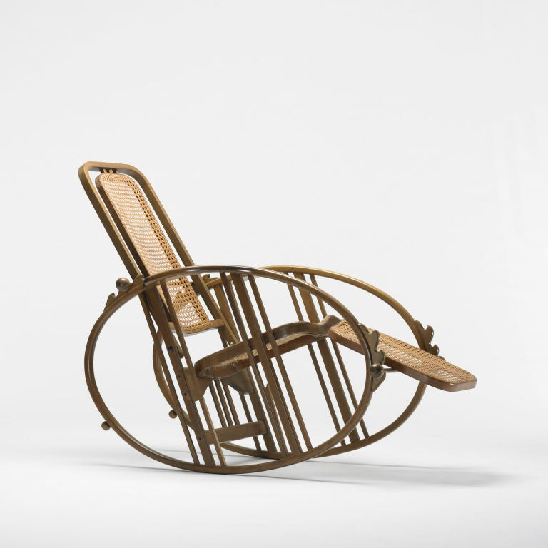 Rocking chaise model 267 by antonio volpe at 1stdibs for Chaise modele