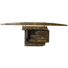 Beautifully Detailed Model Palanquin