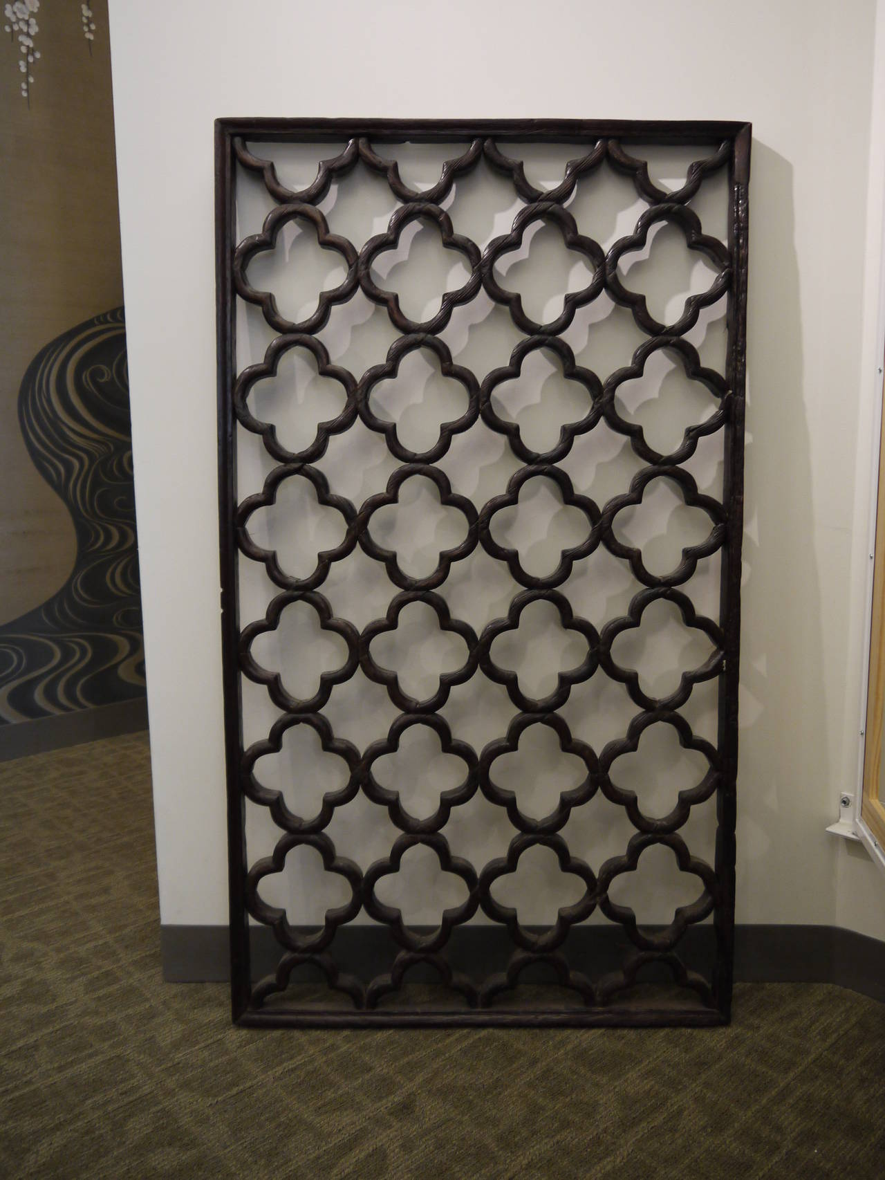 19th century chinese lattice window panel at 1stdibs