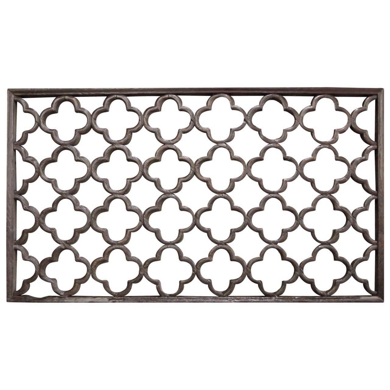 19th century chinese lattice window panel at 1stdibs for Lattice screen