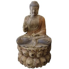 Huge Antique Buddha