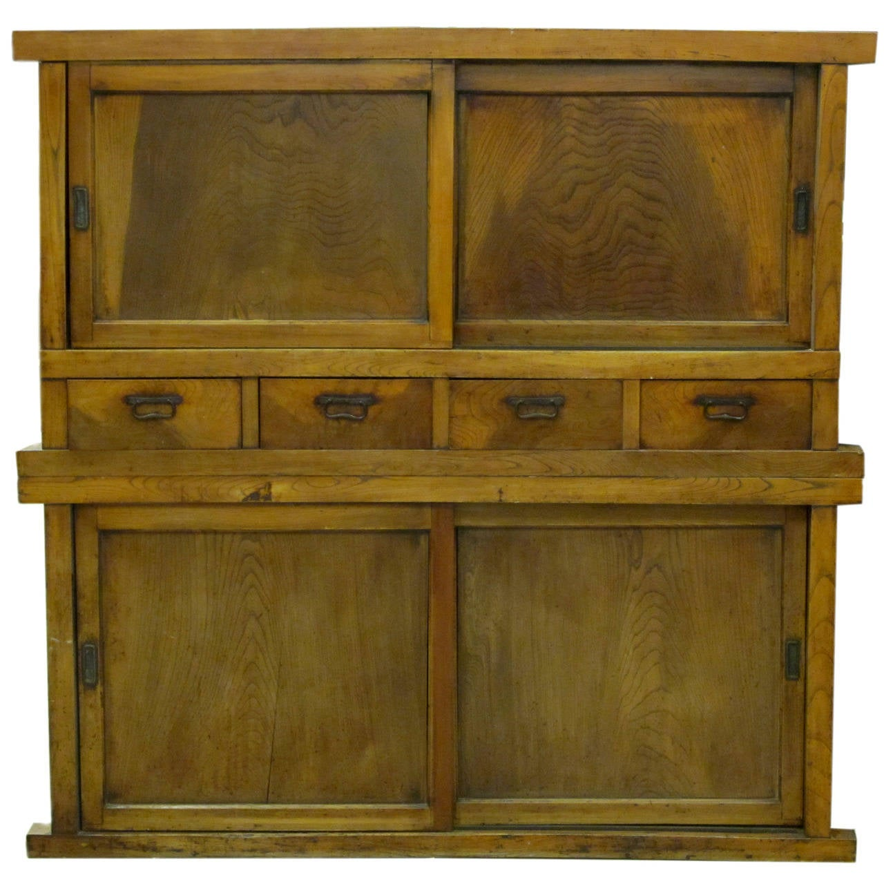 19th Century Japanese Large Kitchen Tansu
