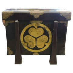 Large Japanese 19th Century Storage Chest