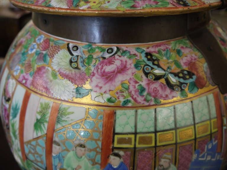 Large Chinese Temple Jar For Sale 1