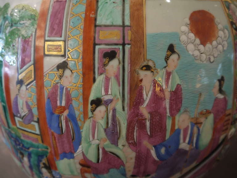 Large Chinese Temple Jar For Sale 2