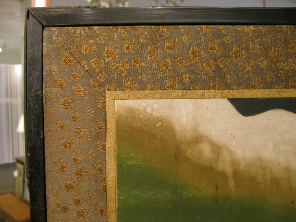 Antique Japanese Six-Panel Screen 10