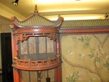 Vintage Chinoiserie Pagoda Form Display Cabinet thumbnail 3