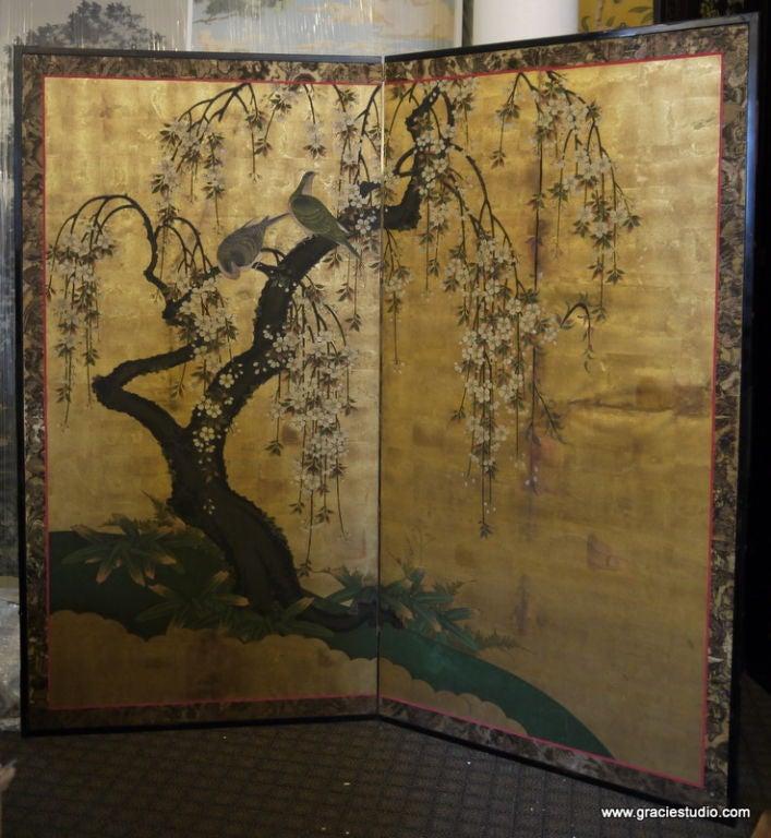 Antique Japanese Screen 2