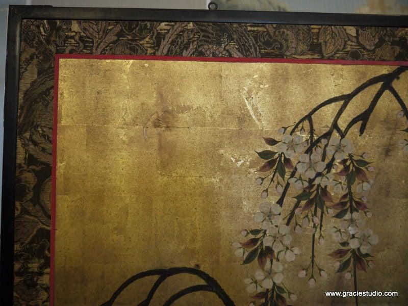 Antique Japanese Screen 3